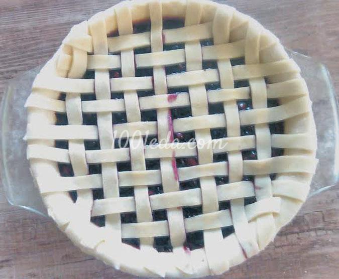 Черничный пирог: рецепт с пошаговым фото