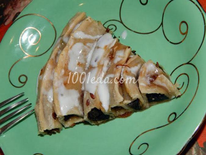 Пирог-лабиринт со щавелем: рецепт с пошаговым фото