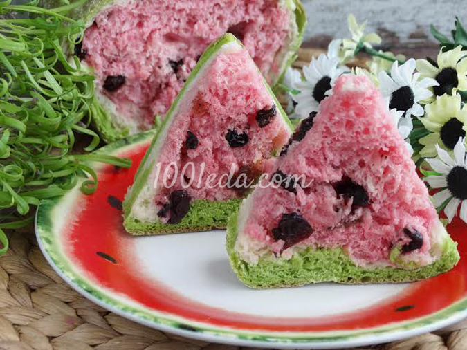 Хлеб-арбуз: рецепт с пошаговым фото