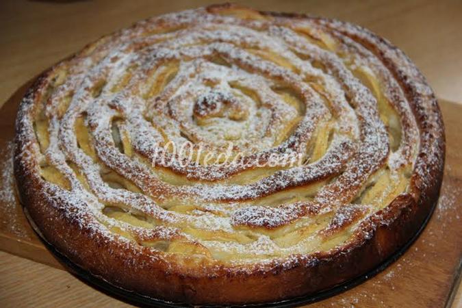 Яблочный пирог: рецепт с пошаговым фото